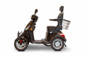 New-EWheels-EW-46-Bariatric-4-Wheel-Long-Range-Electric-Mobility-Black-Scooters