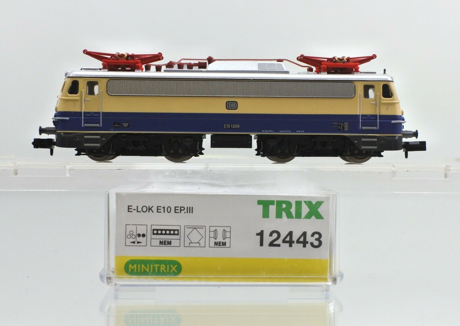 TRIX N SCALE 12443 DB E.10 EPIII ELECTRIC ENGINE