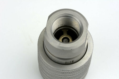 """1//2/"""" NPT Female Hydraulic Coupler Quick Connect ISO 5675 Poppet Fits Pioneer"""