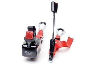 pair-red-rear-combined-unwin-webbing-restraint-seatbelt-stalk-Karabiner-hooks
