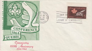 Canada-432-5-Quebec-Conference-on-Capital-Cachet-First-Day-Cover