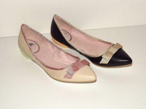 Cuir 38 35 37 Chaussures Basses 39 36 Rose Beige 40 Ballerines 41 Rosé Fornarina Z5qR5