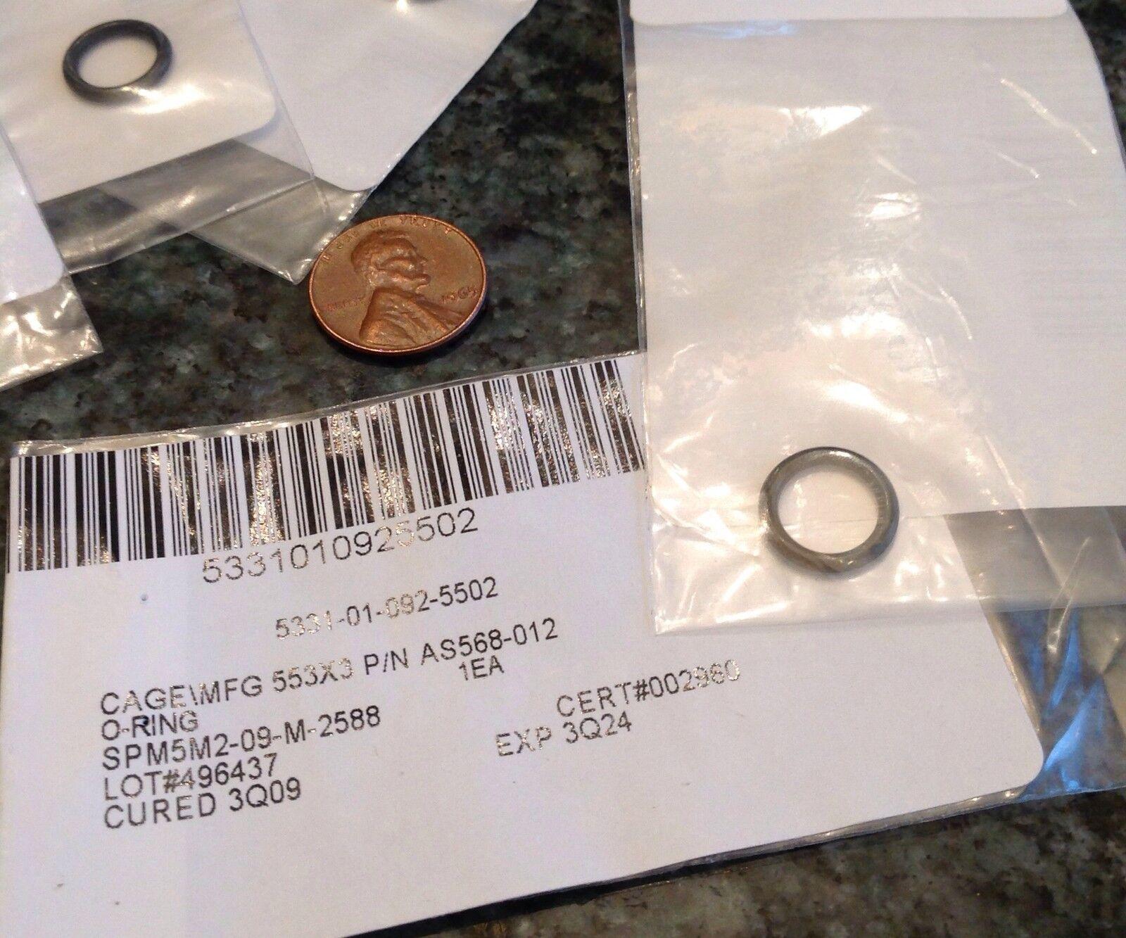 5 o rings rubber seal osh kosh 2HE922 butadiene acrylonitrile 1//2 x 3//8 x 0.039