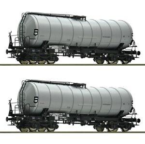 Roco-H0-2-Knickkesselwagen-der-DR-aus-76155-NEU
