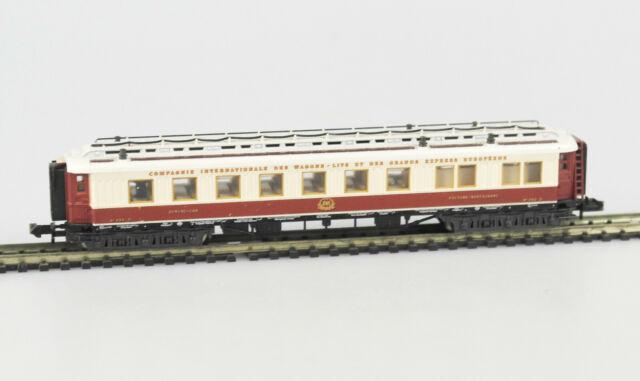 MINITRIX 13179 Spur N Personenwagen Speisewagen WR6ü, CIWL, Epoche I, OVP