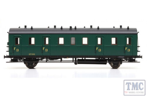 L334052 Liliput HO Scale Passenger Coach 3rd Class Cdtr-21//31 27.311 SNCB Ep.II