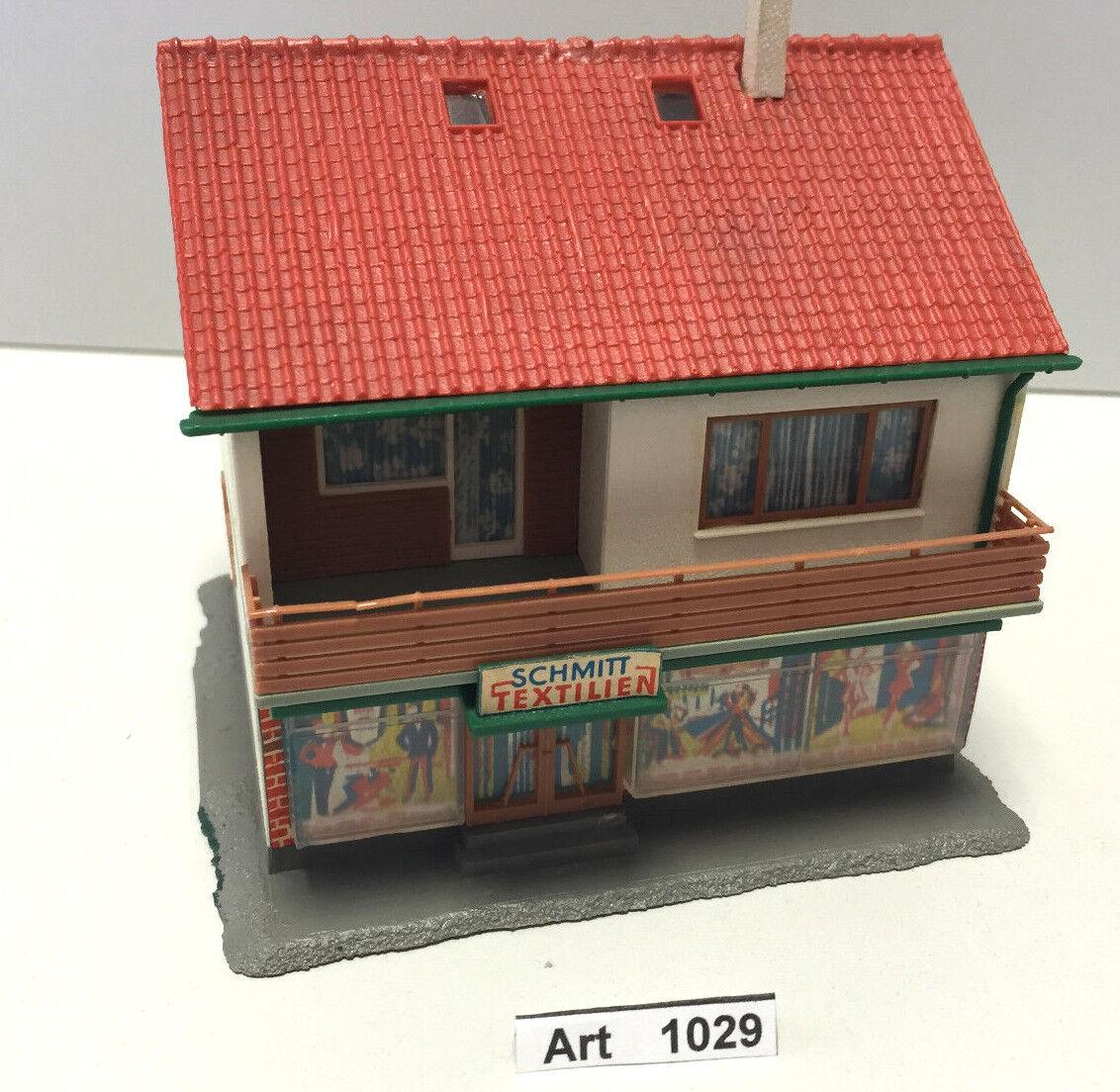 Kibri 8072 h0 two-family house with shop, pre-glued, 1 87, Very Rare & Rare