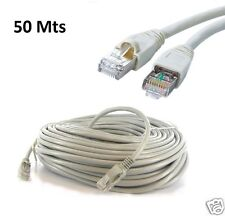 50M METER RJ45 CAT5E ETHERNET NETWORK INTERNET LAN PATCH MODEM ROUTER LEAD CABLE