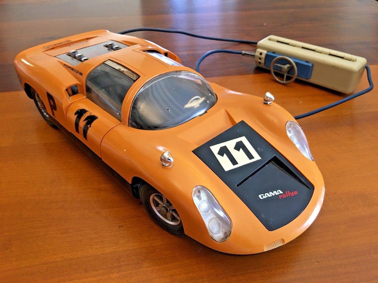 Vintage RC coche Modelo Porsche Carrera 10-Gama fabricante Western Germany