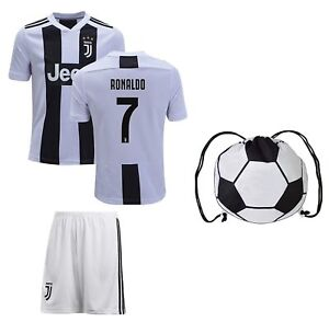 sports shoes b26df 4a37b Details about Juventus Cristiano Ronaldo Jersey #7 Youth OR Adult Soccer  Gift Set ✓ Ronaldo...