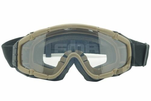 Airsoft paintball ops core SAUTER Fan Anti Brouillard Clair Lunettes Lunettes si Sable Tan