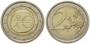 2-EURO-COMMEMORATIVA-ITALIA-2009-EMU-UNIONE-ECONOMICA-MONETARIA-MOLTO-RARA