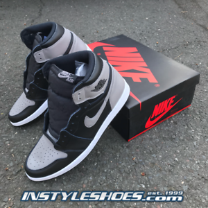 0ff3eb3cc8c4f Nike Air Jordan 1 High OG Black Shadow 2018 Retro 555088-013 ...