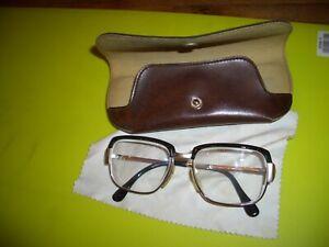 Vintage Franz Ruzicka 318 braun eckig Brille Brillengestell eyeglasses NOS