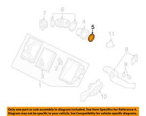 Details about FORD OEM Air Cleaner-Mass Air Flow Sensor MAF Gasket  YL8Z9E931BA