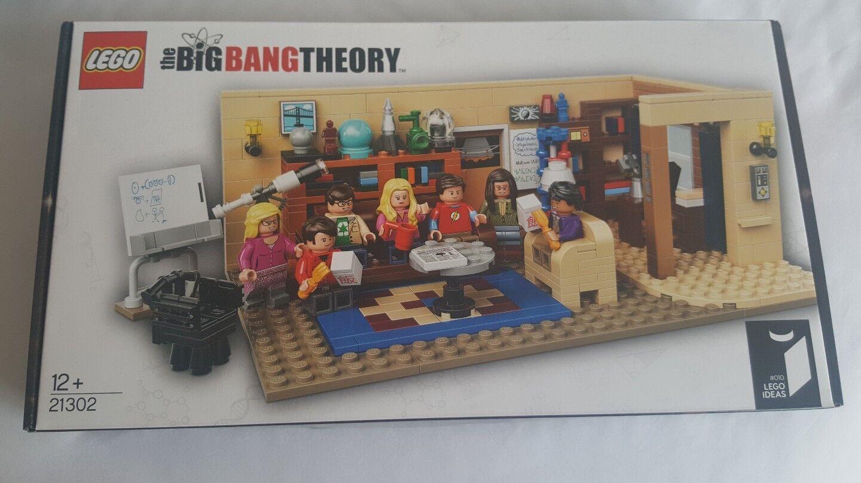 RARO & ritirato idee Lego Il Big Bang Theory 21302