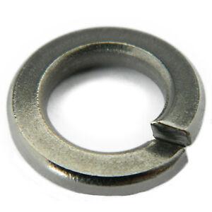Stainless-Steel-Split-LOCK-WASHERS-Spring-Medium-6-Qty-50