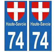 autocollants-plaques-immatriculation-auto-Departement-74-HAUTE-SAVOIE