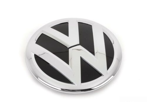 New Genuine VW Cc 09-12 Front Center Grill VW Badge Emblem Chrome 3C8853601A Fxc