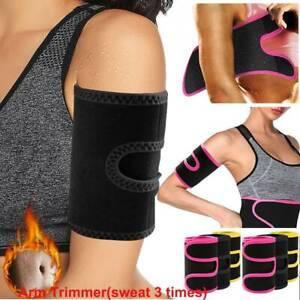 Arm Trimmers Sauna Hot Sweat Band Women&Men Sauna Effect Arm Slimmer Body Shaper