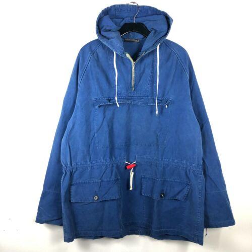 VTG 40s 50s Nonpareil Blue French Ski Parka Jacket