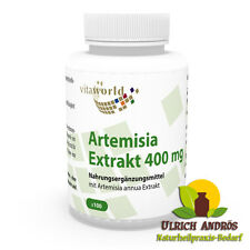 Vita World Artemisia annua Extrakt 30:1 400mg 100 Vegi Kapseln Made in Germany