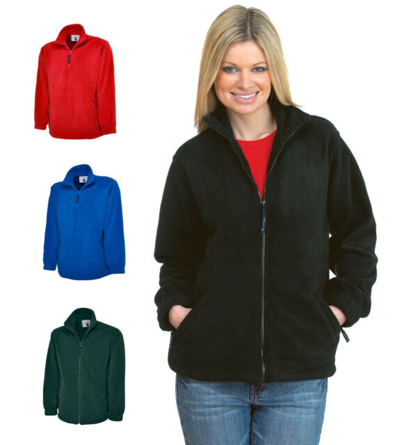 f37a25815 Ladies Full Zip Classic Fleece Jackets Size 6 - 32 for SPORTS LEISURE  CASUAL 604