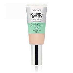 NEW-Innoxa-Pollution-Protect-Foundation-30mL-Cosmetic-Makeup-Beauty-Face