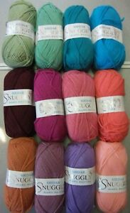 Ten-50g-Balls-of-Sirdar-Snuggly-Double-Knitting-Wool-Yarn-for-Knitting-Crochet