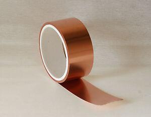 Kupferfolie-Kupferband-Kupferblech-Kupferrolle-0-035-x-30-mm-10-m-Rolle