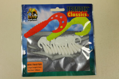 Behr Trendex Mini Twister 3,5 cm oder 5,5 cm Farbe 01 Weiß 12 Stück pro Packung