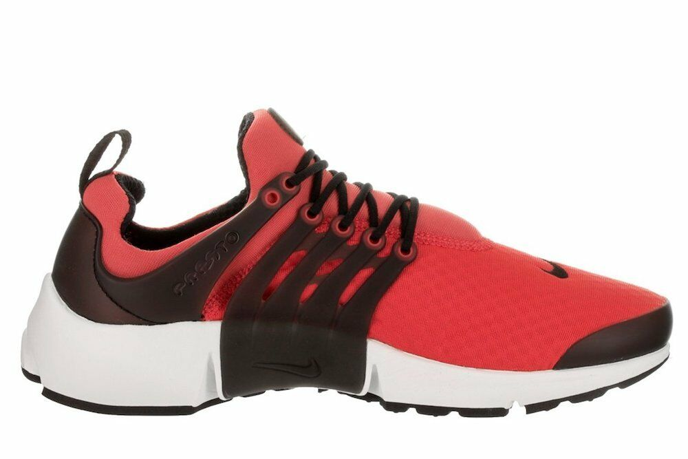 Nike Men's Air Presto Essential Red/Black Running Shoes