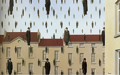 Framed Print Picture Surrealism Replica René Magritte Not to be Reproduced