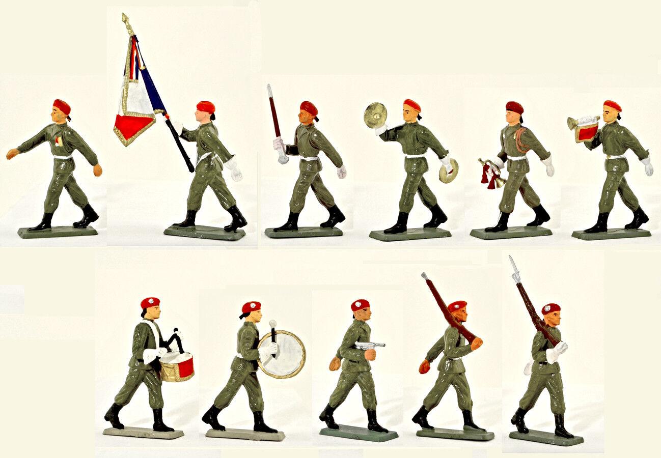 Estrellalux paracaidistas franceses - juego completo completo completo de juguetes de 11 a 60 mm 9d7