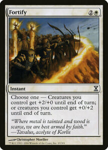 1X Fortify MTG Magic TIME SPIRAL 19/301