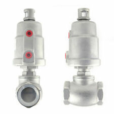 Dn25 Angle Seat Pneumatic Actuated Valve Steam Water Dryer Valve Large Flow