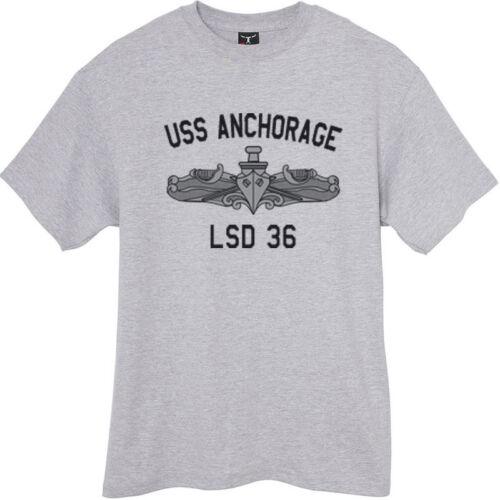 USN US Navy  USS Anchorage LSD-36 T-Shirt