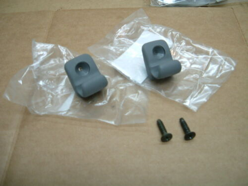 Nissan 240sx S14 BRAND NEW OEM Sunvisor holder clips PAIR GRAY 95 96 97 98