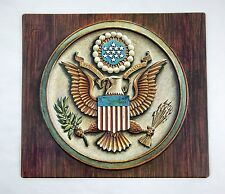 Vintage 1970's Great Seal of the United States Formcraft Vacuum Form 3D Print