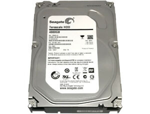 "Seagate ST4000NC001 4TB 5900RPM SATA 6Gb/s 64MB Cache 3.5"" Internal Hard Drive"