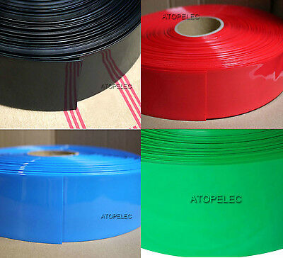 160MM Wide Φ102MM PVC Heat Shrink Tubing Battery Wrap
