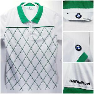 BMW-Golfsport-Mens-XL-Golf-Shirt-Polo