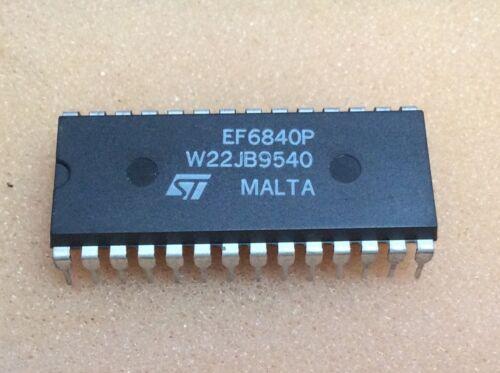 EF6840P   ST   I//O Port Circuit  Eight Bit I//O Port   DIP24  NOS  #BP 1 pc