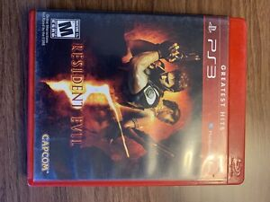 Resident Evil 5 PS3 Playstation 3 COMPLETE USA VERSION