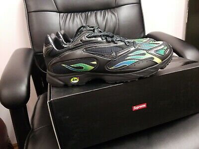 NIKE ZM STRK SPECTRUM PLS SUPREME aq1279 001 blackblack US10 NEW IN BOX | eBay