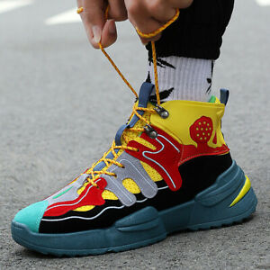 High-top-Men-039-s-Sneakers-Student-Sports-Sandals-Casual-Shoes-Fashion-Walking-Shoe