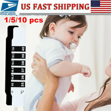 10Pcs Hot Baby Kids Forehead Strip Head Thermometer Fever Body Temperature Test