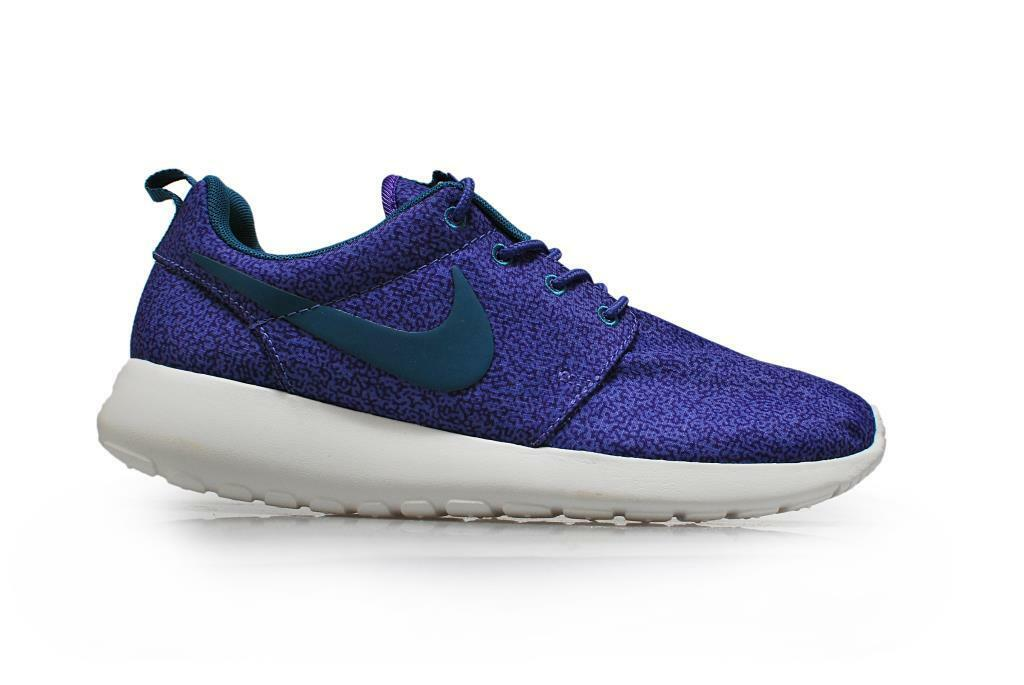 Zapatos promocionales para hombres y mujeres Womens Nike Roshe run Print - 599432 551- Purple Haze Trainers