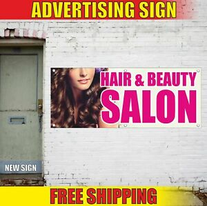 Hair Beauty Salon Advertising Banner Vinyl Mesh Decal Sign Nail Bar Barbershop Ebay