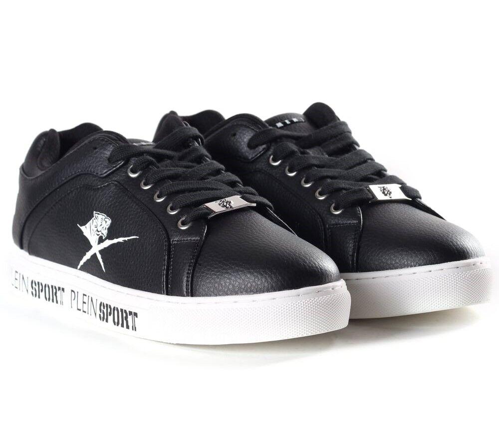 "outlet store 568ac afcb3 PHILIPP PLEIN Negro lo Top Julian Tenis Tenis Tenis Botas Zapatillas Zapatos  UK10.5 EU45. ""CONVERSE OFF Blanco US6 Eu39,"". Nike Air Max ..."